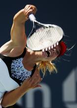 Maria Sharapova Serve Photos