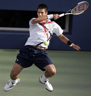 Novak Djokovic Forehand Follow Through Jpg
