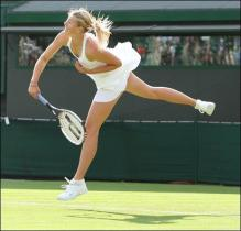 Maria Sharapova serves at Wimbleton.jpg