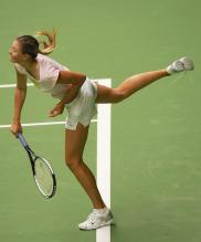 Maria Sharapova finishs serving.jpg