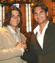 Rafael Nadal and Roger Federer in suits.jpg
