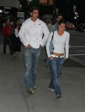 Spainish tennis player Rafael Nadal with his girlfriend.jpg