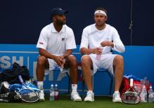 James Blake and Mardy Fish as doubles partners.jpg