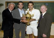 Roger Federer poses with Pete Sampras, Bjorn Borg, and Rod Laver.jpg