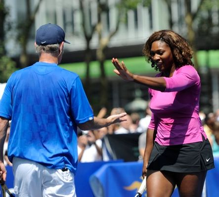 John McEnroe gets gives from Serena Williams.JPG