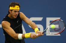 Juan Martin Del Potro two handed backhand at contact.JPG