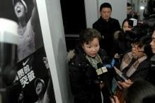 Li Na's mom is interviewed at her home in China.JPG