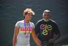 Venus Williams and her father.jpg