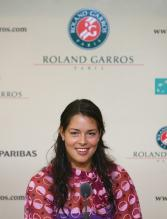 Ana Ivanovic during the post match conference.jpg