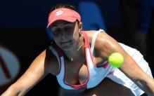 Tamira Paszek going for the ball shows huge boobs.jpg