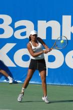 Tamira Paszek two handed backhand at contact.jpg