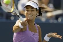 ana ivanovic forehand at contact for high ball.jpg