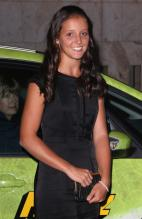 Laura Robson arrives at the Wimbledon 2008 Champions dinner.jpg