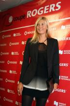 Maria Sharapova in a black blazer at the Rogers cup.jpg