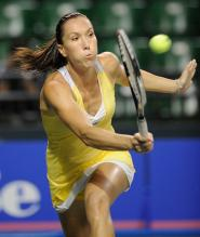 Jelena Jankovic hits a forehand volley.jpg