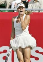 Maria Kirilenko reacts to winning a point at the Hansol Korea Open 2008.jpg
