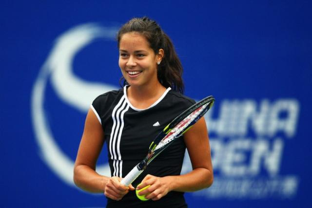 Ana Ivanovic smiles during practice for the China Open 2008.jpg