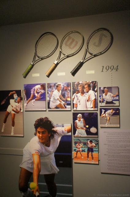 1994 Tennis Highlight wall section at International Tennis Hall of Fame.jpg