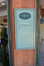 Welcome sign at entrance to International Tennis Hall of Fame & Museum.jpg