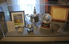 Various grass & lawn tennis trophies at International Tennis Hall of Fame.jpg