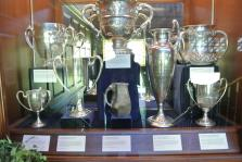 US National Championship trophies from 1908 1913 1884 1901 at International Tennis Hall of Fame & Museum.jpg
