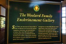 The Woolard Family Enshrinement Gallery info sign at International Tennis Hall of Fame & Museum.jpg