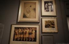 Tennis photos and drawing from early 1900s at International Tennis Hall of Fame.jpg