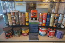 Tennis ball tins, cans & cartons at International Tennis Hall of Fame.jpg