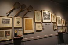 Tennis 1900 t 1920 exhibit International Tennis Hall of Fame & Museum.jpg