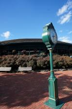 Rolex clock tower at International Tennis Hall of Fame.jpg