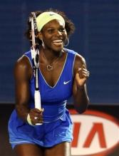 Serena Williams reacts as she wins the 2009 Australian Open.jpg
