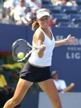 Victoria Azarenka forehand contact point.jpg